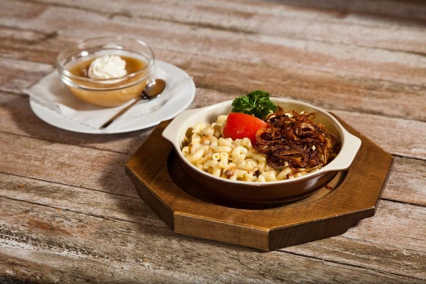 Foodfotografie für Speisekarte eines Lokals, vor Ort fotografiert.