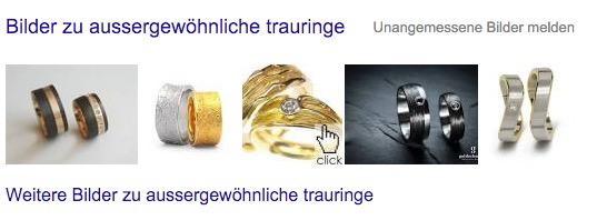 google suche mit bildersuche integriert